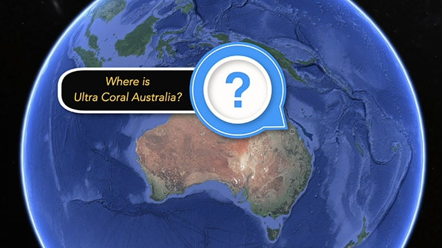 Where is Ultra Coral Australia?
